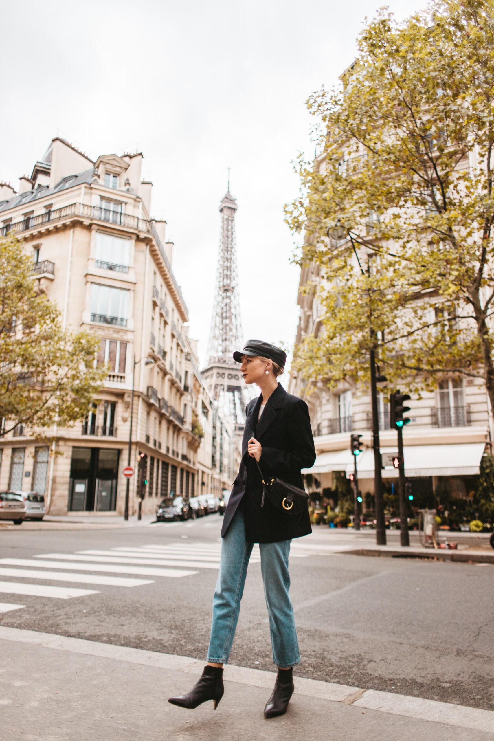 Paryż 18 Avenue Rapp, Paris streets, paryska ulica, wieża eiffla, eiffel tower, the iron lady, blogger, blogerka w Paryżu