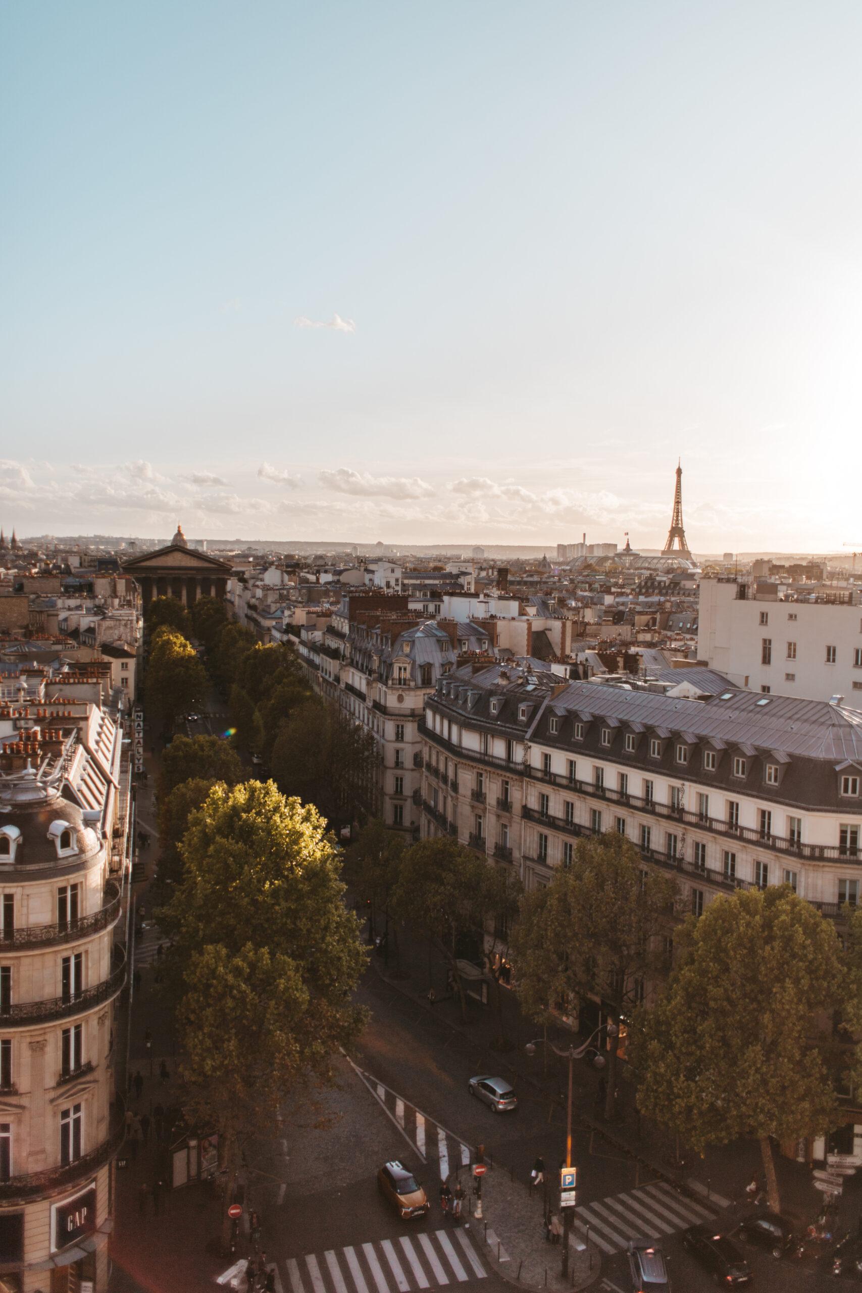 Printemps Paris, Paris rooftop view, Printemps rooftop, parisian rooftop, dachy Paryża, 9 arrondissement, 9 dzielnica Paryża