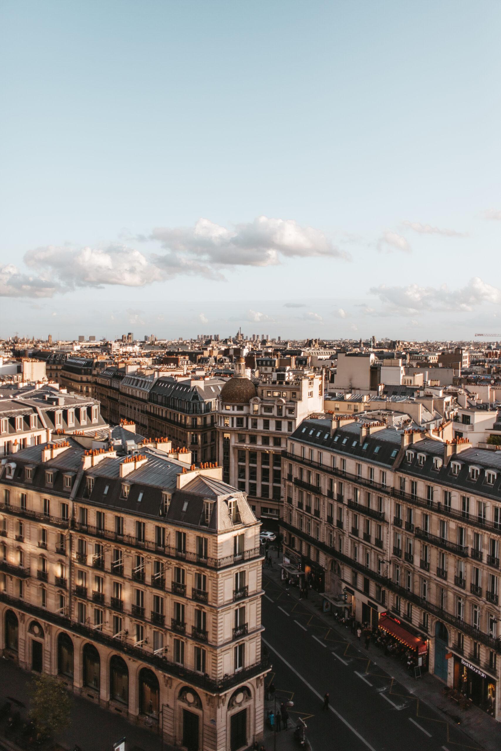 paris rooftop, paris rooftop bar, printemps paris, boulevard Haussman, 9 dzielnica