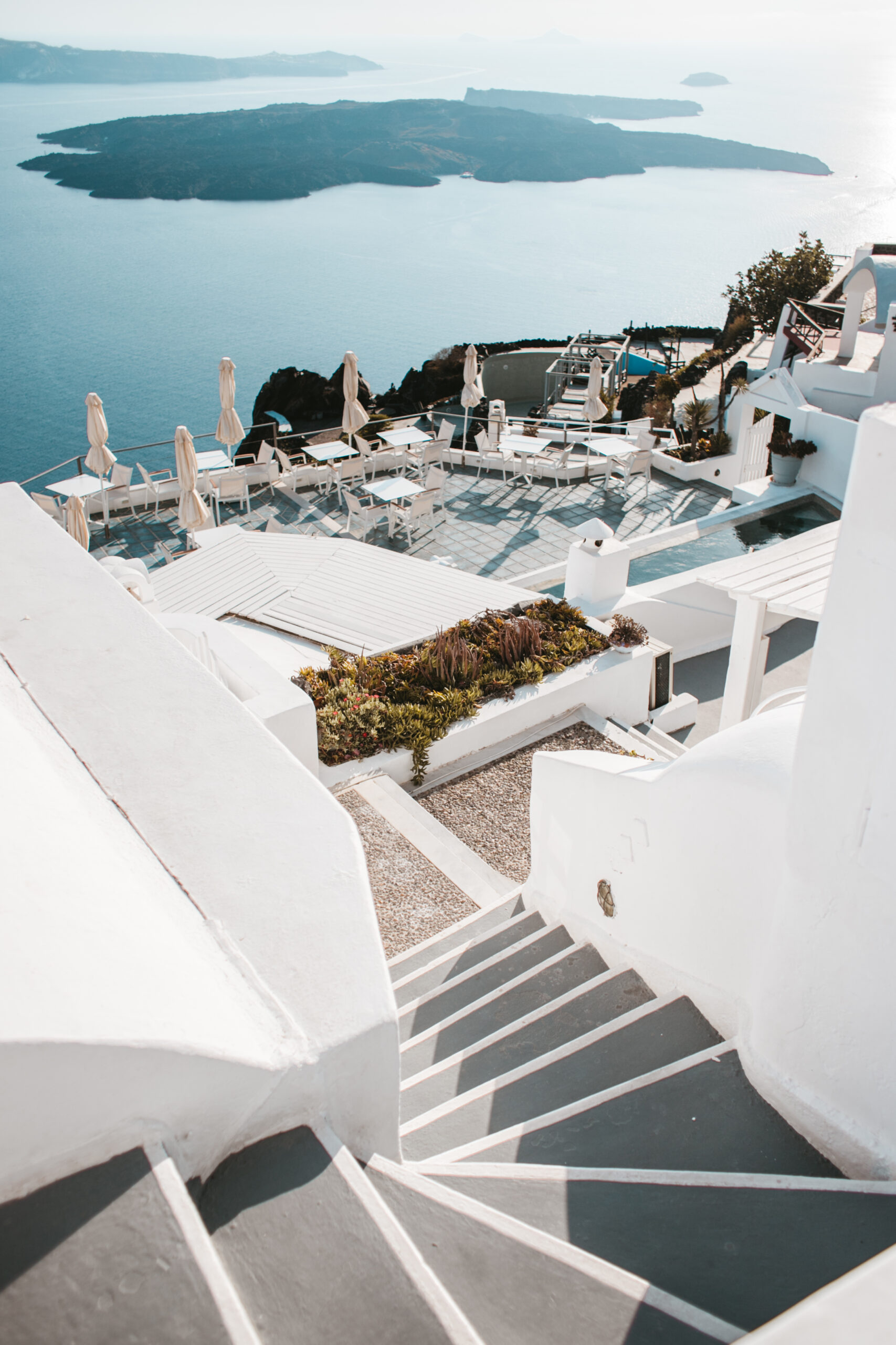 Santorini restaurant, restauracja Santorini, wulkan Santorini, wyspa Santorini, atrakcje, co zobaczyć, restauracja z widokiem na wulkan Santorini