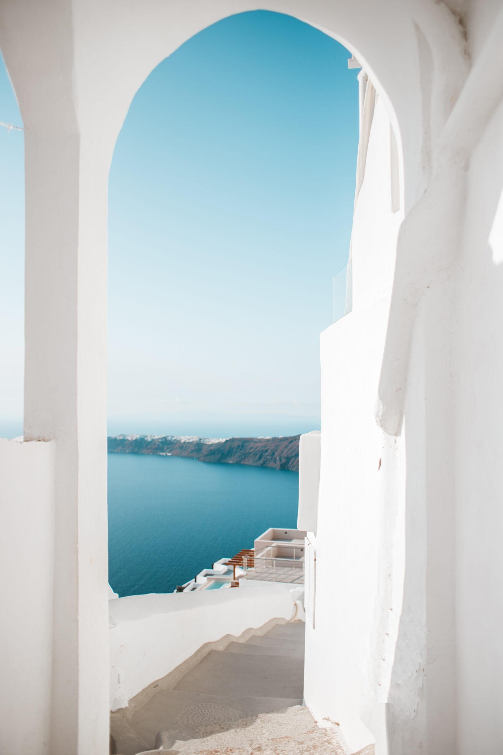 Snatorini schody, co zobaczyć, atrakcje, Imerovigli blog podrozniczy