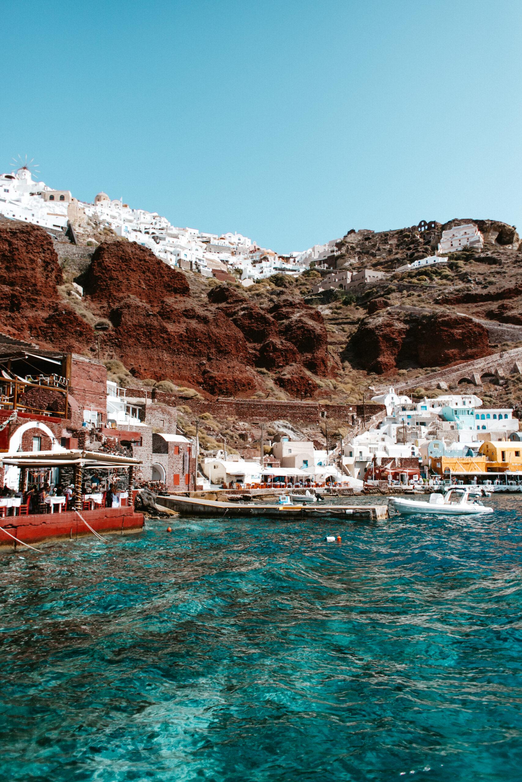 Santorini lato 2020 Ammoudi bay Oia