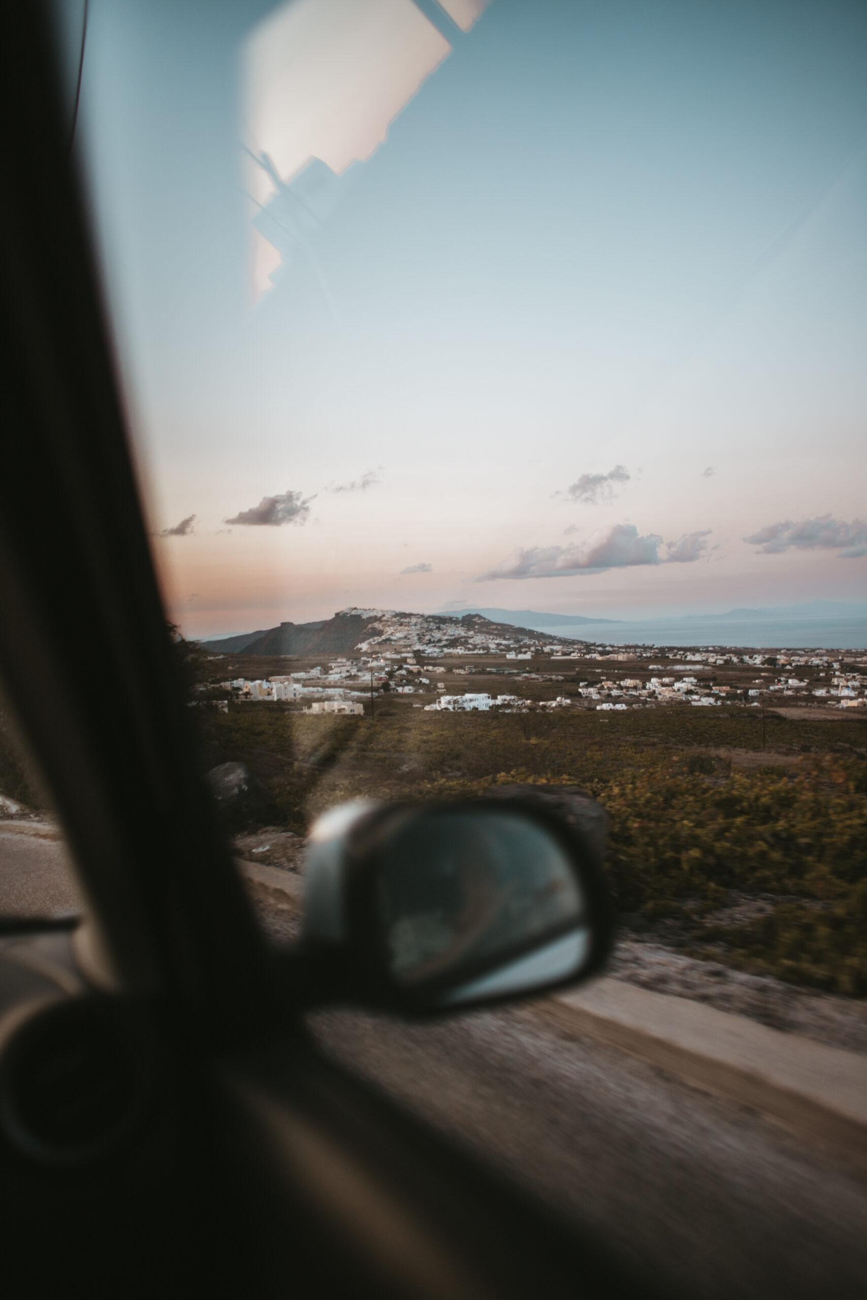 Santorini car rent, wynajem auta santorini, Oia, Santorini airport car rental, wakacje na Santorini