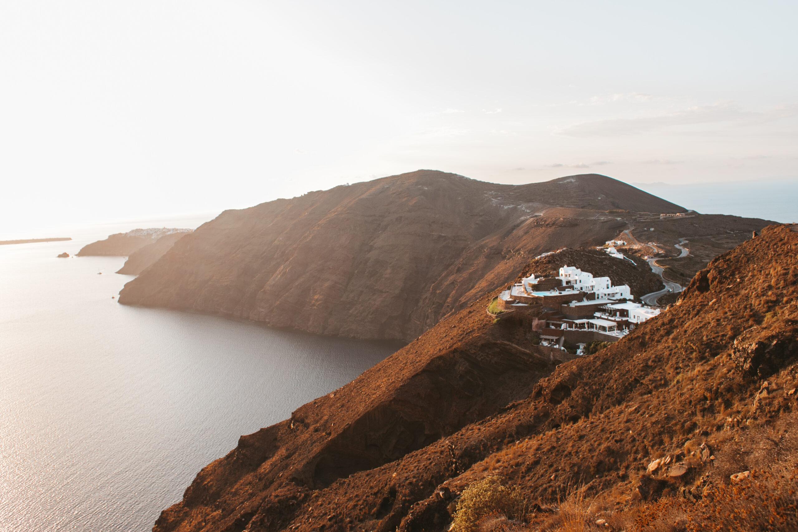 Caldera view, kaldera Santorini, trekking, hiking, Fira, Oia, Imerovigli, Thira